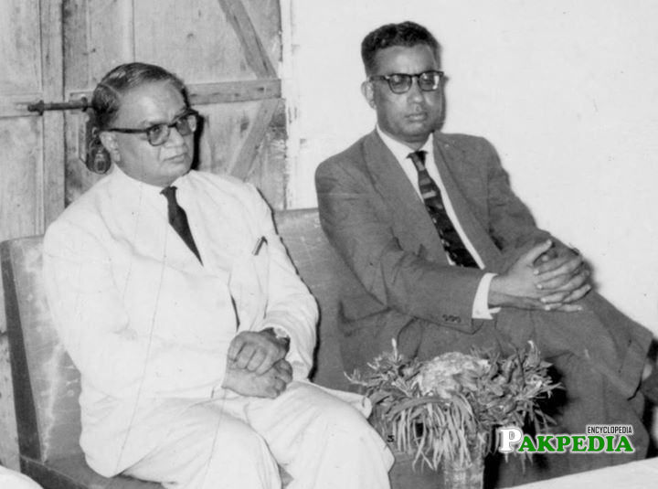 Ibne Insha and Mumtaz Hasan