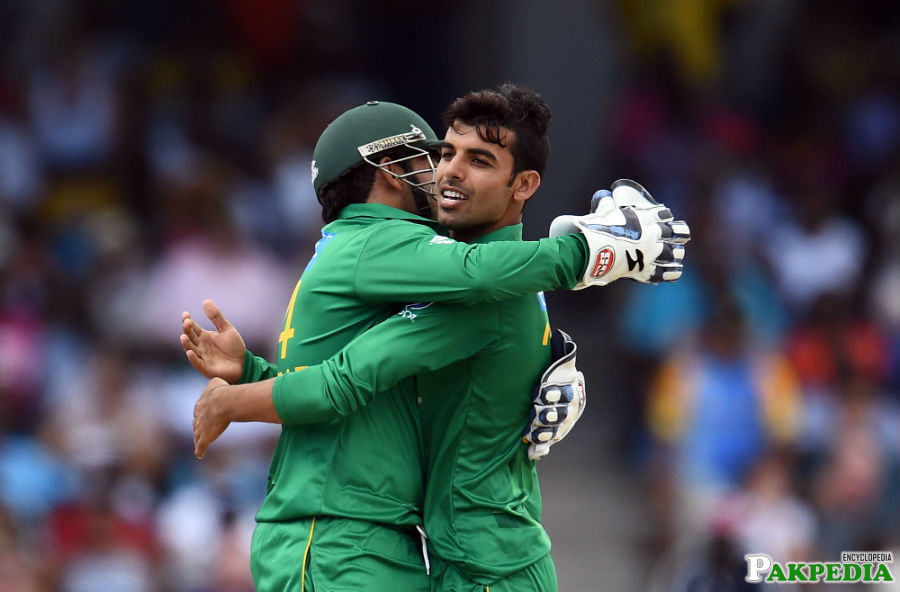 Shadab and Sarfraz