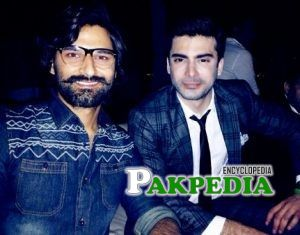 Zain baig with Fawad khan
