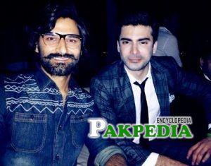 Zain baig with Fawad khan