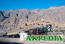 Khyber Express near Quetta