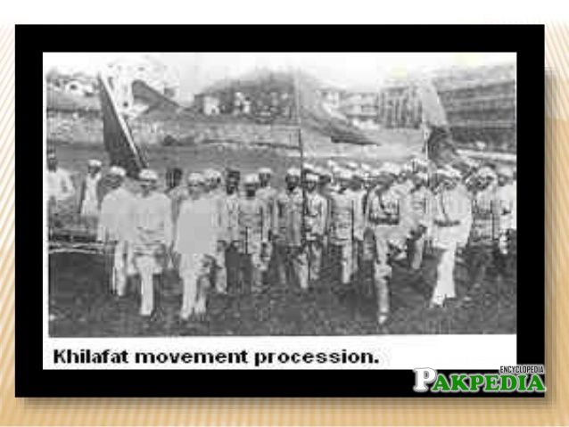 Khilafat Movement Procession