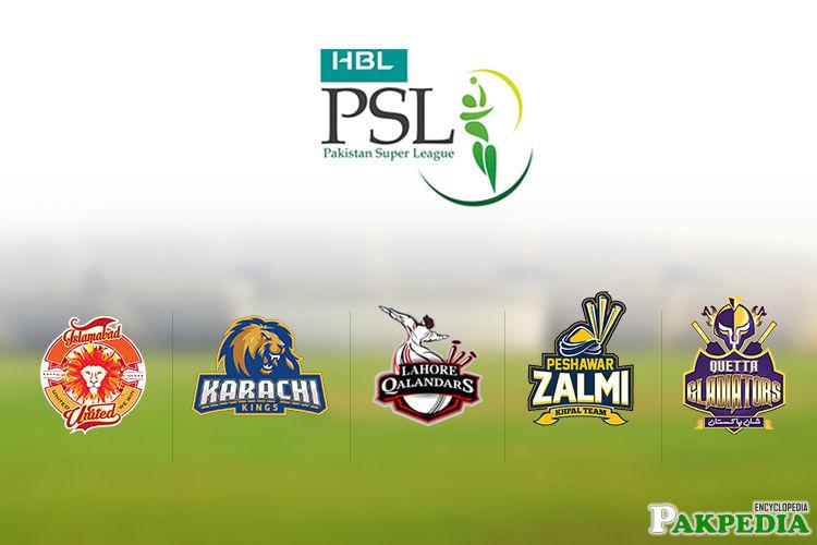 Pakistan super league Teams Logo