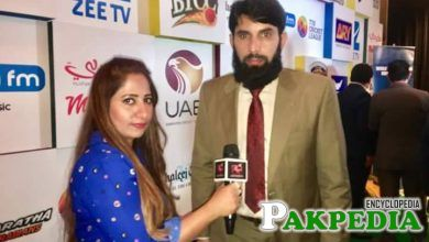 host of Asia TV with misbah-ul haq
