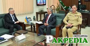 Rana Tanveer Hussain in Meeting