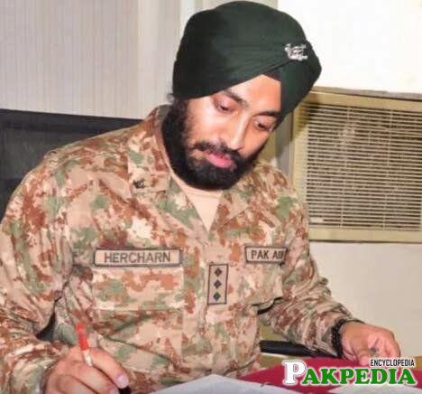 Hercharn Singh in office