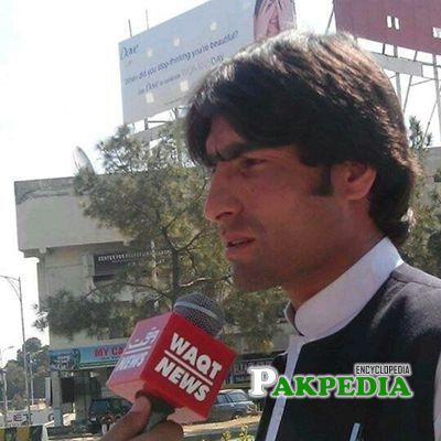 Afzal Kohistani while talking to media