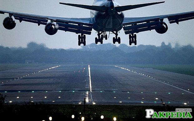 Quetta International Airport Runway