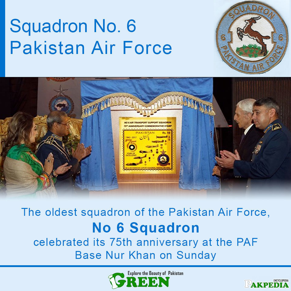 75th Anniversery of Squadron No 6