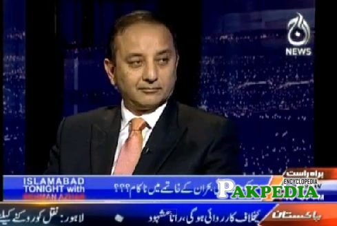 At Geo News as a Guest