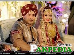 Wedding Pic of Sadia Imam