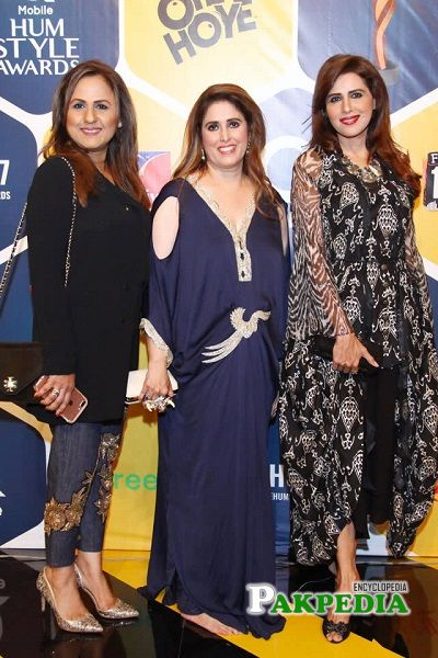 Seemi Pasha at Hum style awards