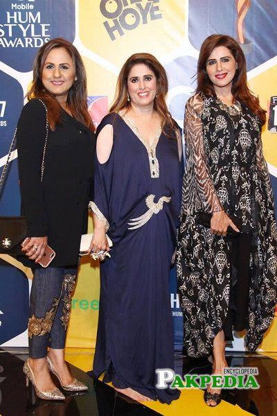 Seemi Pasha at Hum style awards