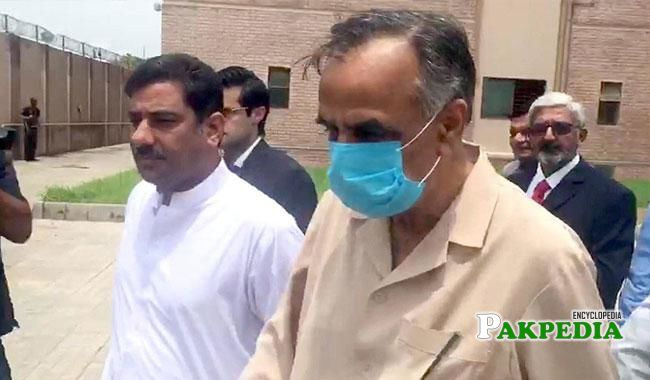 Zafar hijazi being arrested for record tempering case
