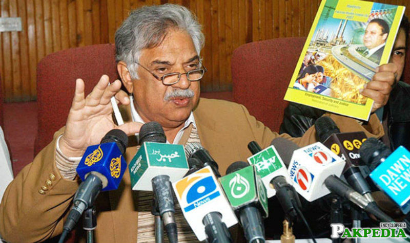 Iqbal Zafar Jhagra Media Talk
