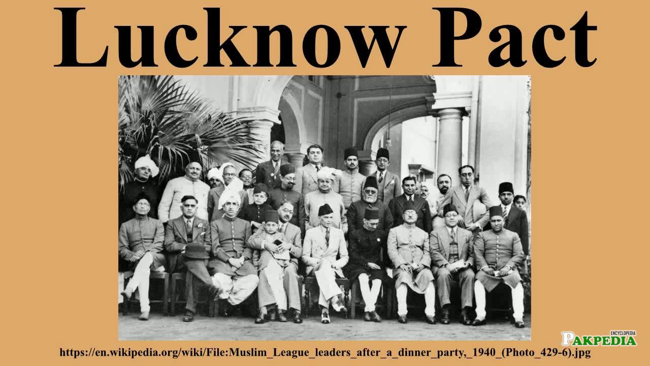 Lucknow Pact