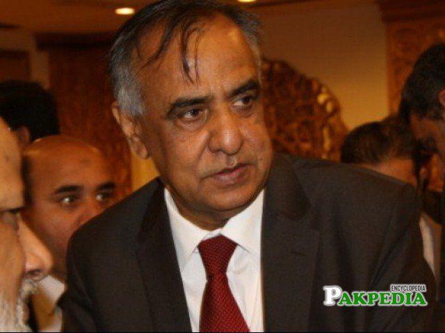 Ex chairman of SECP Zafar hijazi