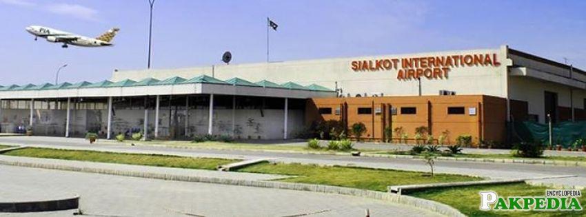 Sialkot International Airport in Sialkot