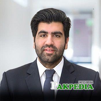 Arif Naqvi son Ahsan Naqvi