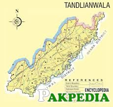 The map of Tandlianwala