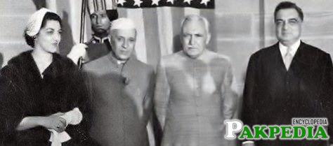 Iskander Ali Mirza as President