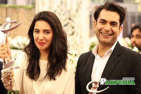 Sarmad Khoosat and Mahira Khan