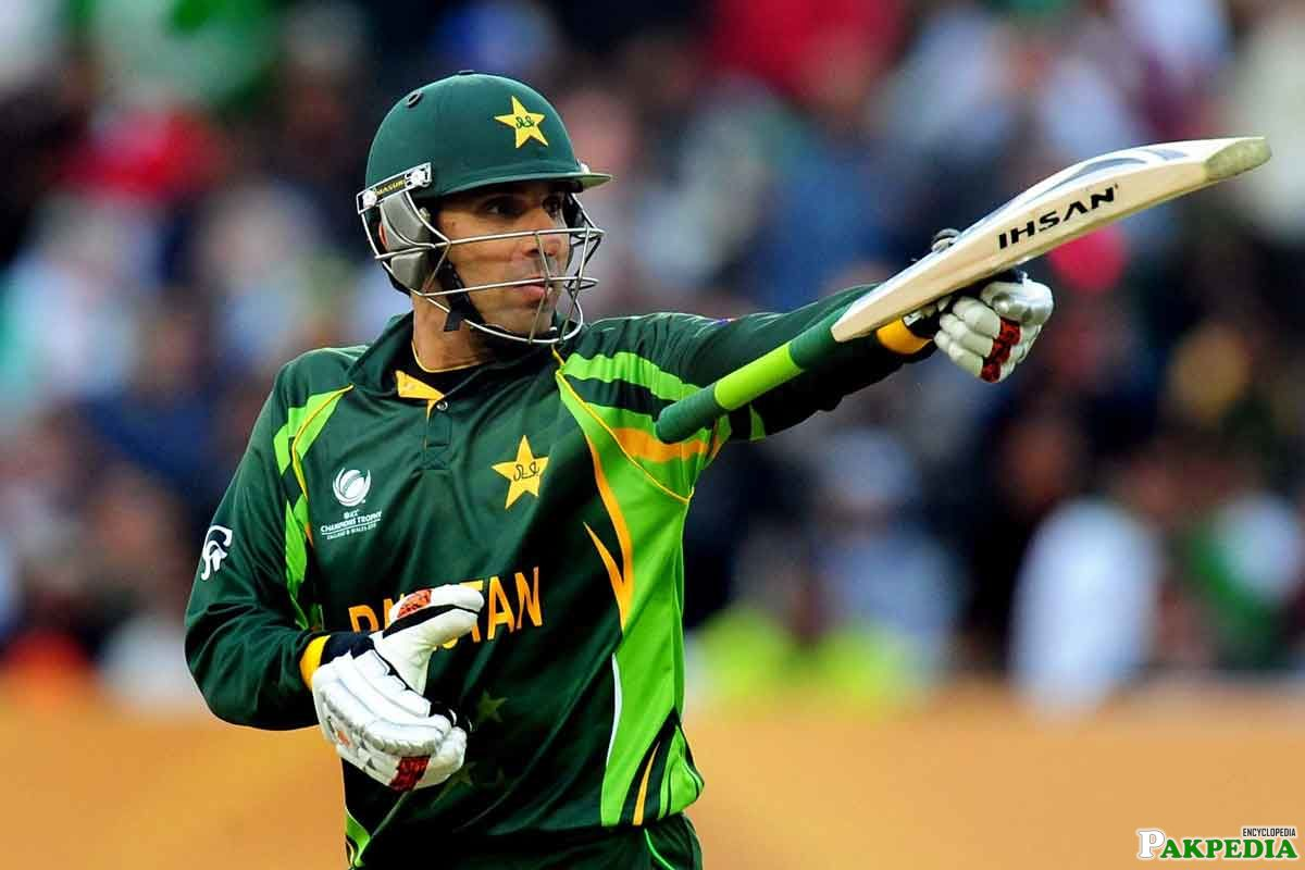 Misbah-ul-Haq is out Standing Captain
