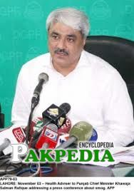 Salman rafique during media press conference
