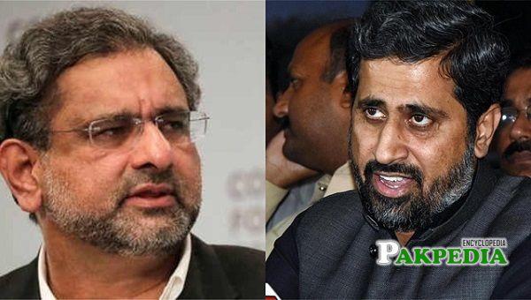 Shahid Khaqan trolled Fayyaz Chohan by calling him insane
