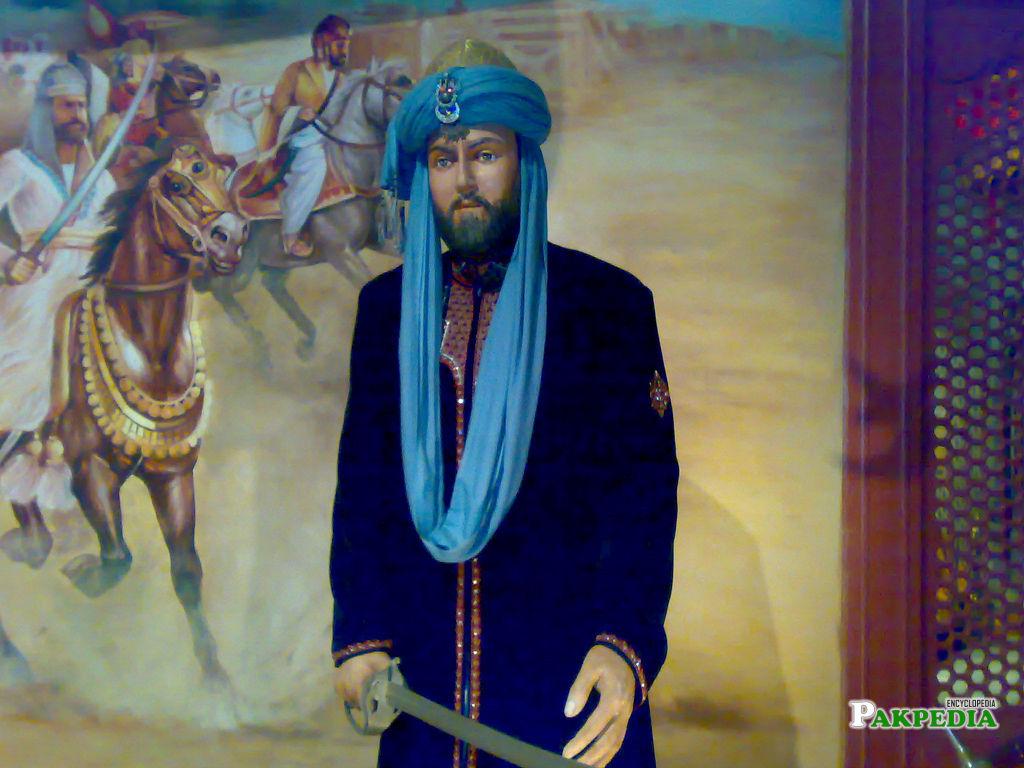 Statue of Mahmood Ghaznavi