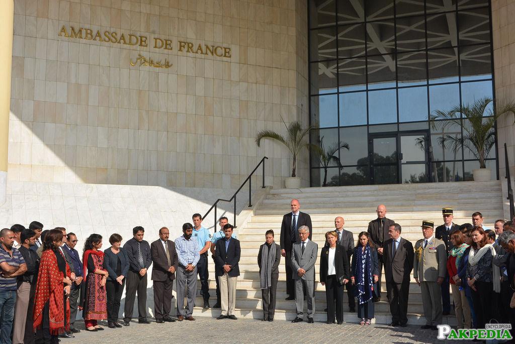 France embassy outside