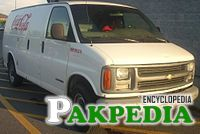 1996-2002 Chevrolet Express wagon from The Coca-Cola