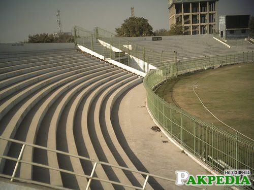 Niaz Stadium siting area
