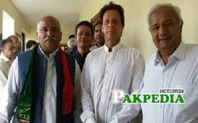 Ahmad Shah Khagga joined PTI