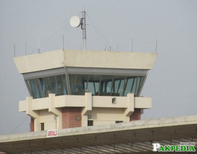 Air Traffic Control Tower of Sialkot Airport