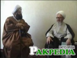 With Ayatullah jaffar subhani