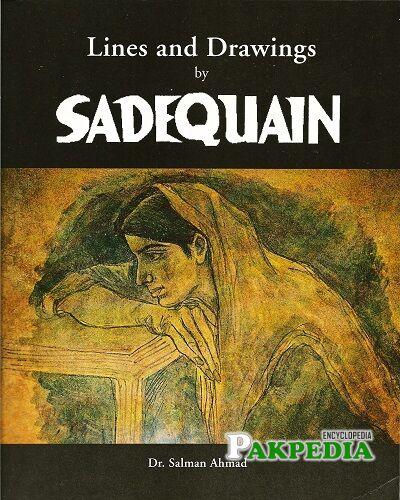 syed sadequain ahmed naqvi paintings