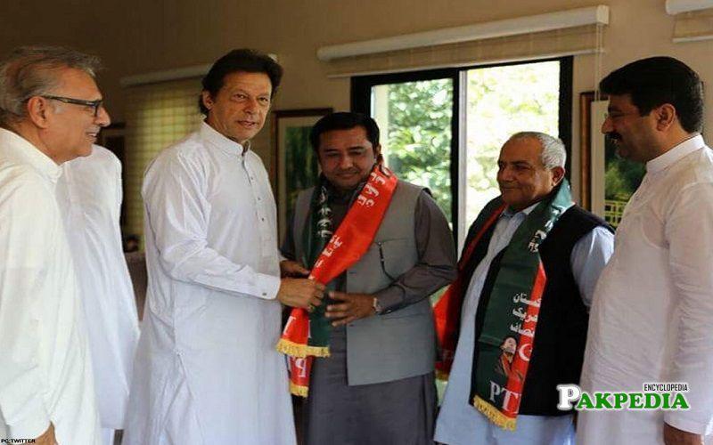 Aamir Talal Gopang joined PTI