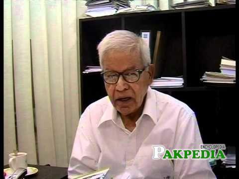 Veteran Journalist Hussain Naqi