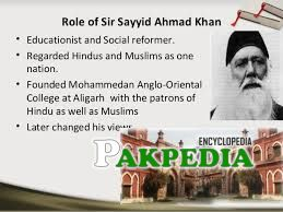 Role of Sir Syed