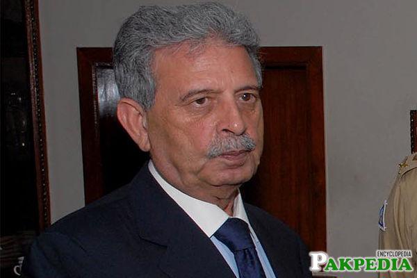 Rana Tanveer Hussain member of PMLN