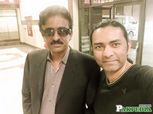 Tauqeer Nasir with Sajjad Ali