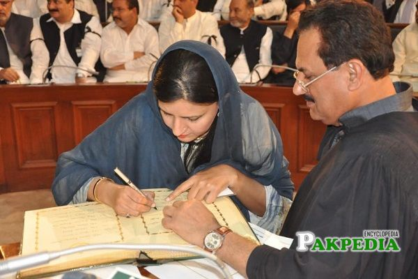 Mehwish Sultana elected as MPA