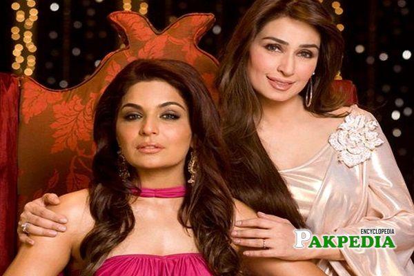 Reema Khan and Meera