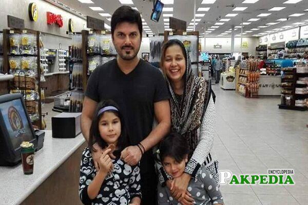 Ali Haider Family