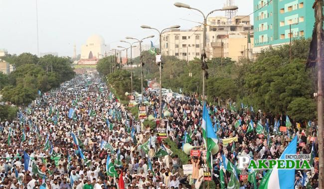 Rohingya March in Karachi