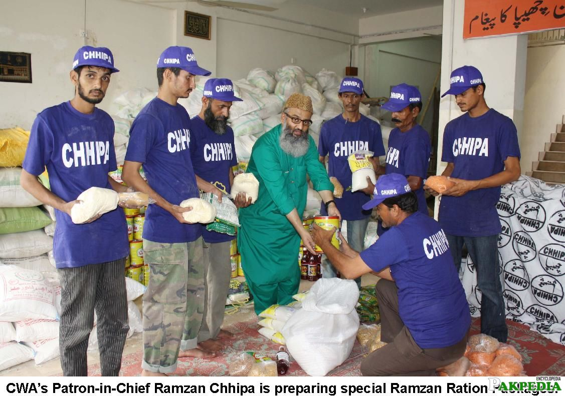 Ramadan Food Arrangements From Chippa Welfare