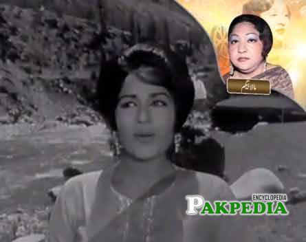 Pakistani singer Mala beghum