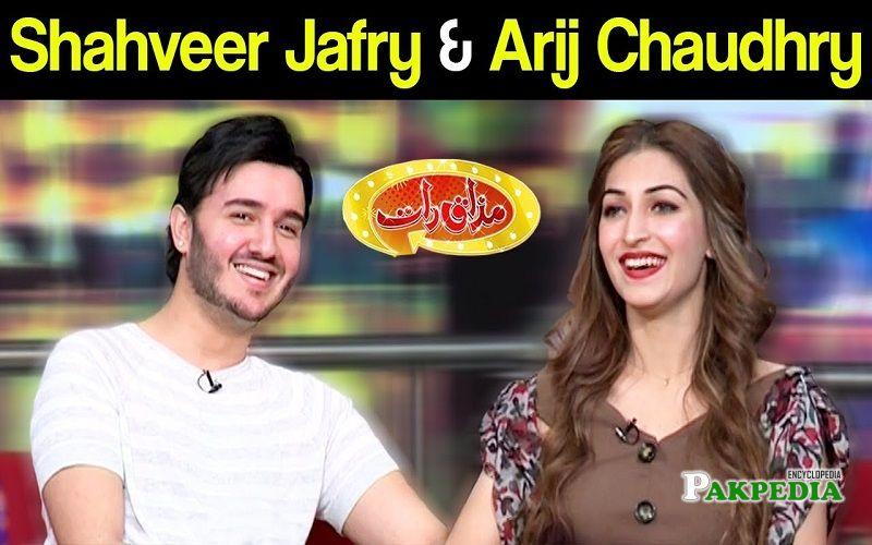 Shahveer jafry in mazak raat