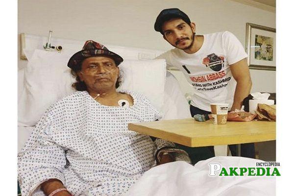 Mohsin Abbas Haider visits Amanullah